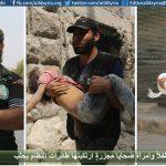 15 طفلاً وامرأة ضحايا مجزرةٍ ارتكبتها طائرات النظام بحلب