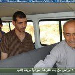 إخلاء 3 مرضى من بلدة الفوعة الموالية بريف إدلب