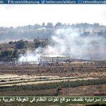 طائرات إسرائيلية تقصف مواقع لقوات النظام في الغوطة الغربية