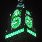 خطاط (ساعة مكة) السوري: يكفيني مشاهدة الحجاج (لفظ الجلالة) بخط يدي