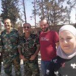 مراسل (بي بي سي) يشارك ضباط النظام بحلب احتفالاتهم بالحصار