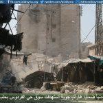 15 مدنياً ضحايا غاراتٍ جويةٍ استهدفت سوق حي الفردوس بحلب