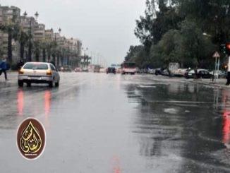 سوريا .. منخفض جوي ماطر يبدأ بعد ساعات ذروته غداً والجمعة