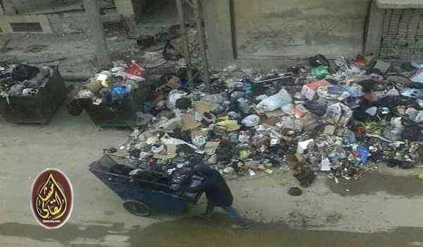 """تردي النظافة في """"السبينة"""" بريف دمشق.. والمحافظة سترحلها!"""